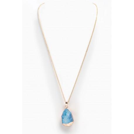 Necklace Agathe Blue