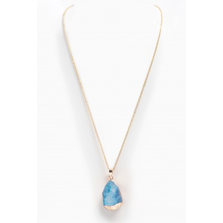 Necklace Agathe Blue