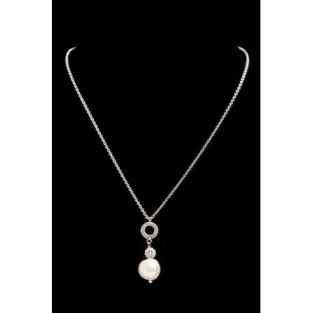Necklace Pendant Swaro-Pearl