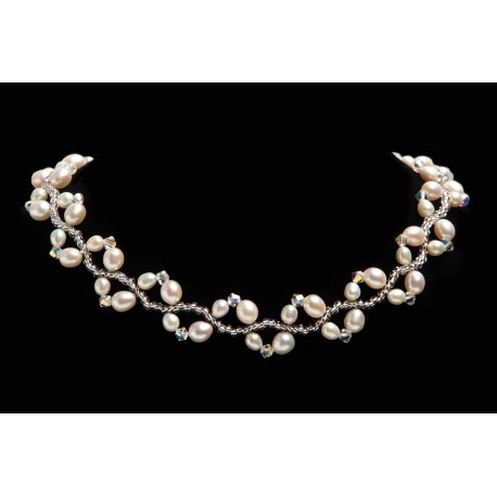 Necklace Bridal Pinkle Star