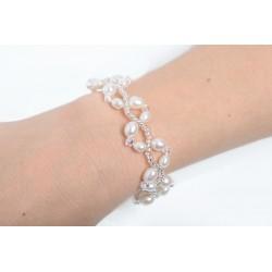 Bracelet Bridal Pinkle Star